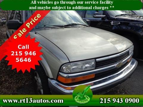 1999 Chevrolet Blazer for sale in Levittown, PA