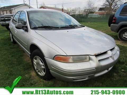 2000 Dodge Stratus for sale in Levittown, PA