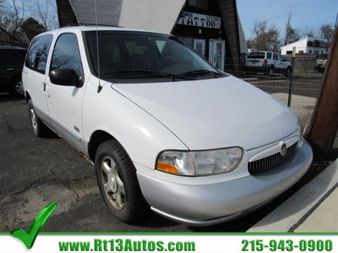 2000 Mercury Villager for sale in Levittown, PA