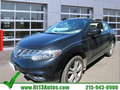 2011 Nissan Murano CrossCabriolet for sale in Levittown, PA
