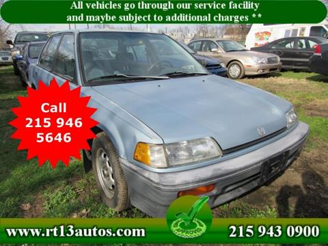 1989 Honda Civic for sale in Levittown, PA