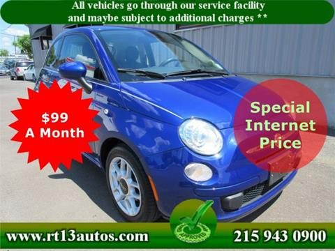 2014 FIAT 500 for sale in Levittown, PA