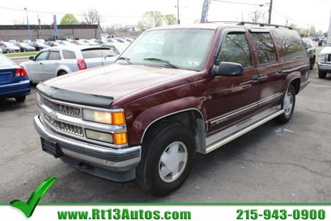 1998 Chevrolet Suburban for sale in Levittown, PA