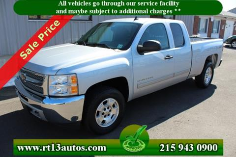 2013 Chevrolet Silverado 1500 for sale in Levittown, PA