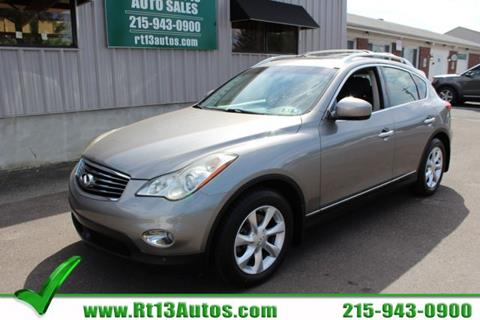 2010 Infiniti EX35 for sale in Levittown, PA