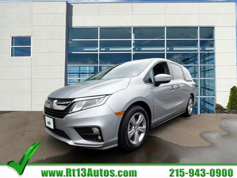 2018 Honda Odyssey for sale in Levittown, PA