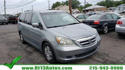 2007 Honda Odyssey for sale in Levittown, PA
