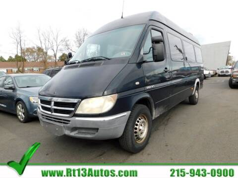 2005 Dodge Sprinter Passenger for sale in Levittown, PA