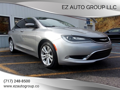 2015 Chrysler 200 for sale in Lewistown, PA