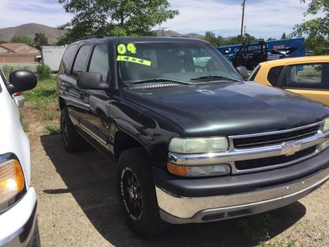 2004 Chevrolet Tahoe for sale in Carson City, NV