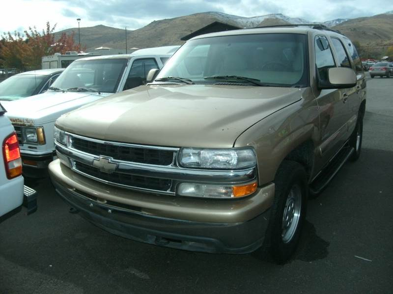 2001 chevrolet tahoe ls 4wd 4dr suv in carson city nv for Small car motors carson city nv