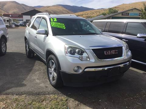 2012 GMC Acadia for sale in Carson City, NV