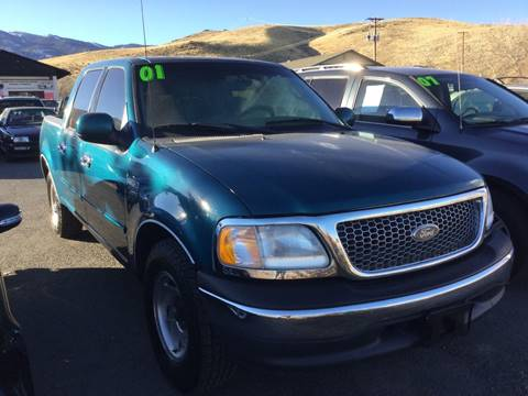 2001 Ford F-150 for sale in Carson City, NV