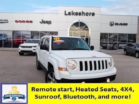2016 Jeep Patriot for sale in Montague, MI