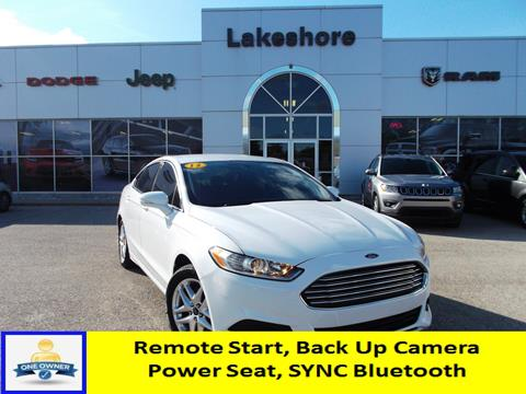 2013 Ford Fusion for sale in Montague, MI