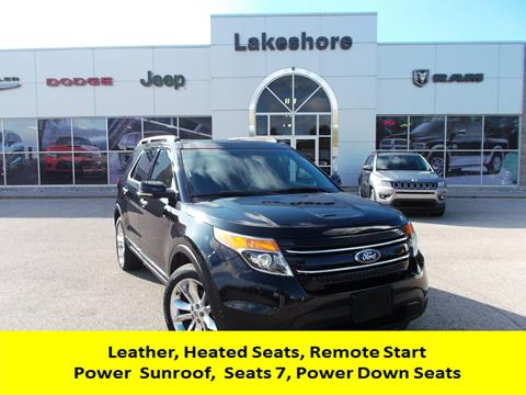 2011 Ford Explorer for sale in Montague, MI