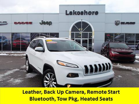 2016 Jeep Cherokee for sale in Montague, MI