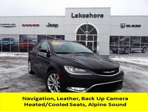 2015 Chrysler 200 for sale in Montague, MI