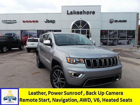 2017 Jeep Grand Cherokee for sale in Montague, MI