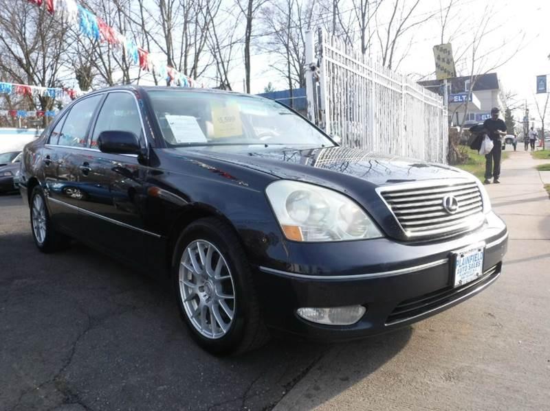 2001 Lexus LS 430 for sale at New Plainfield Auto Sales in Plainfield NJ