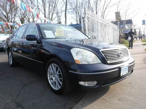 2001 Lexus LS 430 for sale at New Plainfield Auto Sales in Plainfield NJ