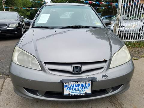 2004 Honda Civic for sale at New Plainfield Auto Sales in Plainfield NJ