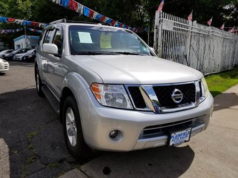 2008 Nissan Pathfinder for sale at New Plainfield Auto Sales in Plainfield NJ