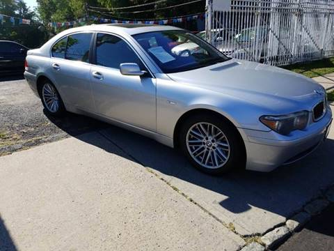 2004 BMW 7 Series for sale at New Plainfield Auto Sales in Plainfield NJ