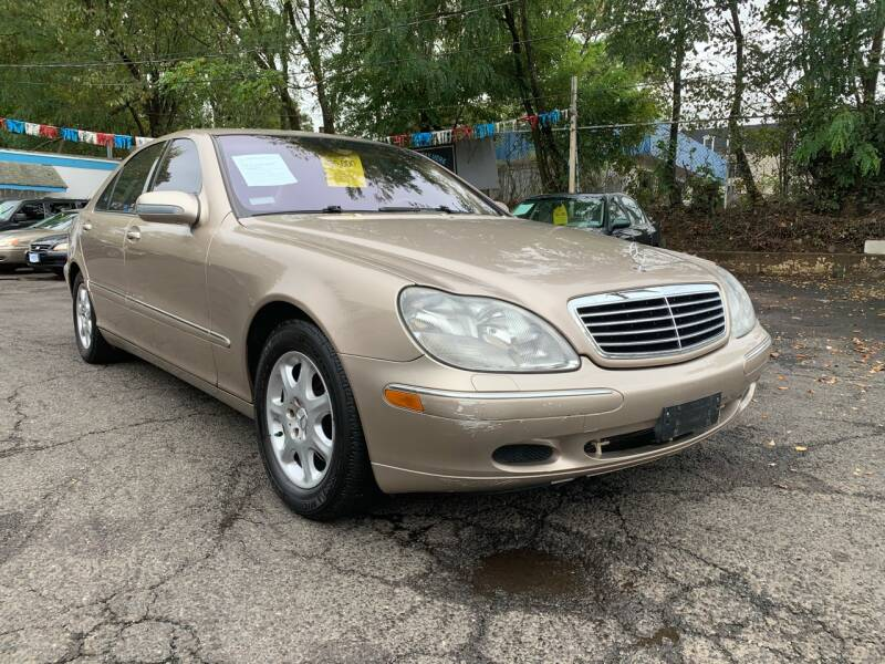 2002 Mercedes-Benz S-Class for sale at New Plainfield Auto Sales in Plainfield NJ