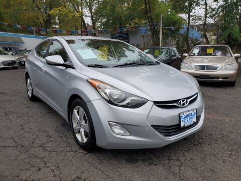 2013 Hyundai Elantra for sale at New Plainfield Auto Sales in Plainfield NJ