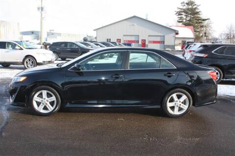 2014 Toyota Camry SE for sale at SCHMITZ MOTOR CO INC in Perham MN