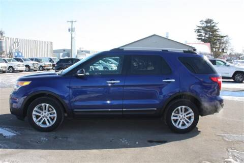 2014 Ford Explorer XLT for sale at SCHMITZ MOTOR CO INC in Perham MN
