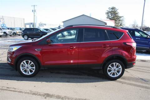 2018 Ford Escape SE for sale at SCHMITZ MOTOR CO INC in Perham MN