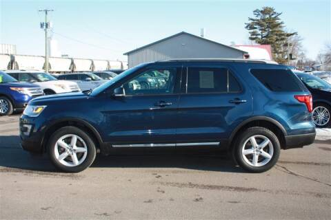 2017 Ford Explorer XLT for sale at SCHMITZ MOTOR CO INC in Perham MN