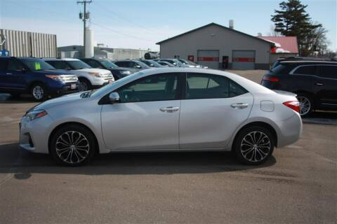 2014 Toyota Corolla for sale at SCHMITZ MOTOR CO INC in Perham MN