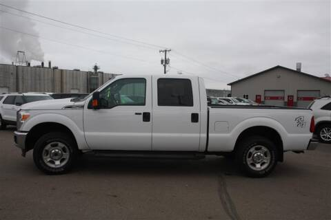 2016 Ford F-250 Super Duty for sale at SCHMITZ MOTOR CO INC in Perham MN