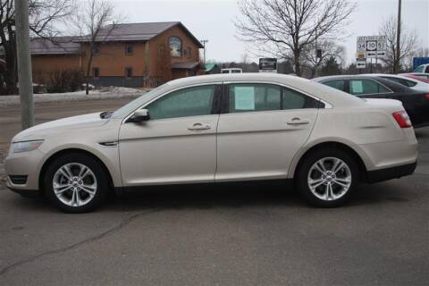 2018 Ford Taurus SEL for sale at SCHMITZ MOTOR CO INC in Perham MN