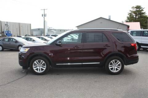 2018 Ford Explorer for sale at SCHMITZ MOTOR CO INC in Perham MN