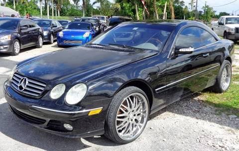 2004 Mercedes-Benz CL-Class for sale in Hollywood, FL