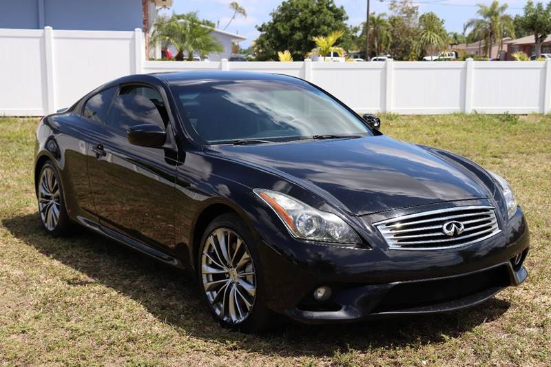 2012 Infiniti G37 Coupe Ipl 2dr Coupe 7a In Hollywood Fl Hollywood