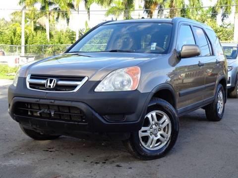 Honda Crv For Sale Near Me >> 2003 Honda Cr V For Sale In Hollywood Fl