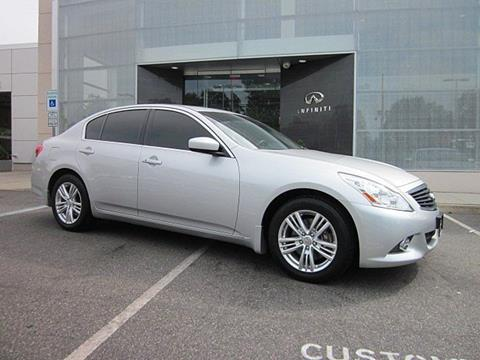 2013 Infiniti G37 Sedan for sale in Clifton, NJ