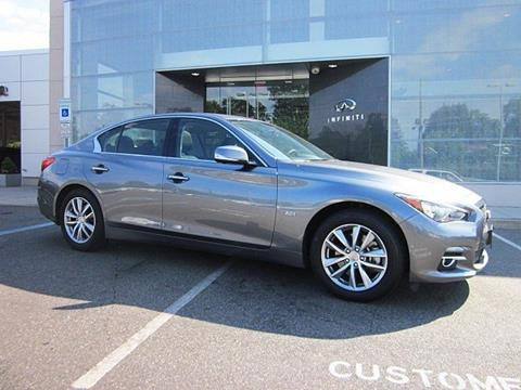 2016 Infiniti Q50 for sale in Clifton NJ