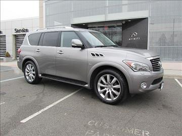 2014 Infiniti QX80 for sale in Clifton, NJ