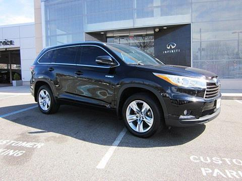 2016 Toyota Highlander Hybrid for sale in Clifton, NJ