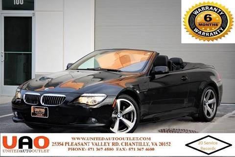 2009 BMW 6 Series for sale in Chantilly, VA