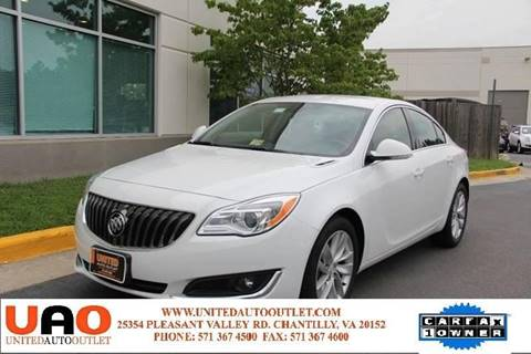 2016 Buick Regal for sale in Chantilly, VA