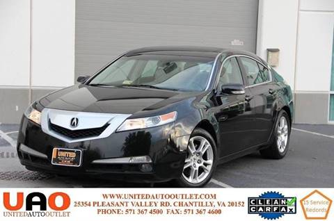 2011 Acura TL for sale in Chantilly, VA