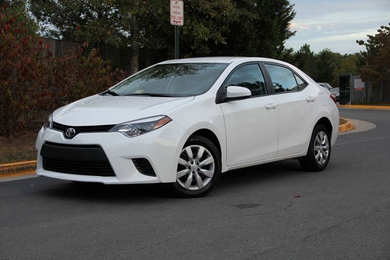 2014 Toyota Corolla For Sale >> 2014 Toyota Corolla Le In Chantilly Va United Auto Outlet