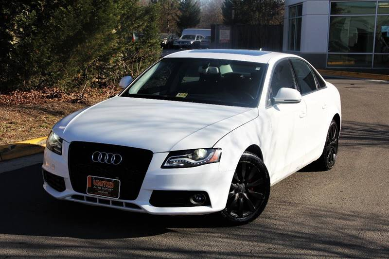 2009 Audi A4 For Sale >> 2009 Audi A4 2 0t Quattro In Chantilly Va United Auto Outlet